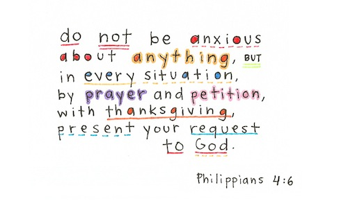 Philippians 4:6 | re-Ver(sing) Verses