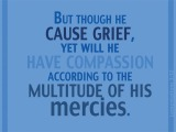 Lamentations 3:32