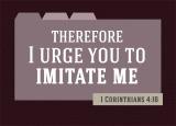 1 Corinthians 4:16