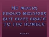 Proverbs 3:34