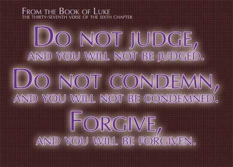 Image result for pic Luke 6:37