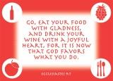 Ecclesiastes 9:7
