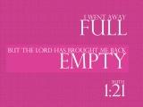 Ruth 1:21