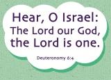 Deuteronomy 6:4