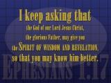 Ephesians 1:17