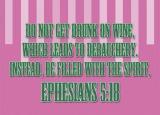 Ephesians 5:18