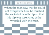 Genesis 32:25
