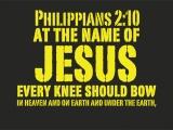 Philippians 2:10