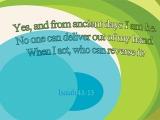 Isaiah 43:13
