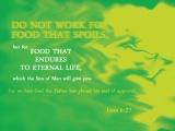 John 6:27