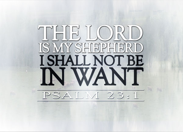 Psalm 23:1 | re-Ver(sing) Verses  Psalm 23:1 | re...