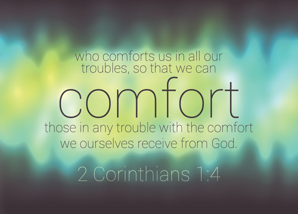 Image result for 2 corinthians 1 3-4