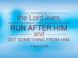 2 Kings 5:20
