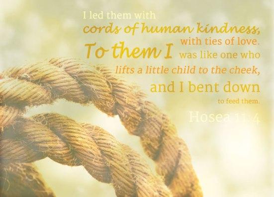 Hosea 11:4