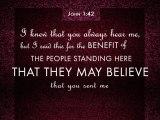 John 11:42