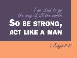 1 Kings 2:2