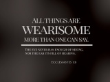 Ecclesiastes 1:8
