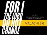 Malachi 3:6
